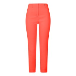 Robell Trousers Rose 09 7/8 Trousers in Coral