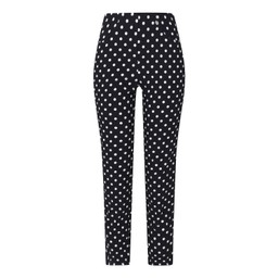 Robell Trousers Bella 09 Spot Trousers - Navy Spot