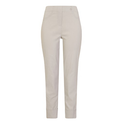 Robell Bella 09 Trousers in Silver Grey