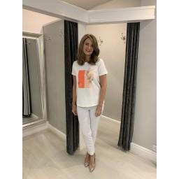 Fransa FRhigraf 2 T-Shirt - White