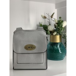 Lucy Cobb Bags Crossbody Bag in Silver