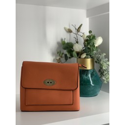 Lucy Cobb Bags Square Crossbody Bag - Orange