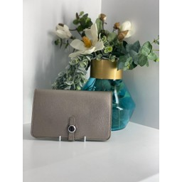 Lucy Cobb Bags Travel Wallet with Purse in Metallic