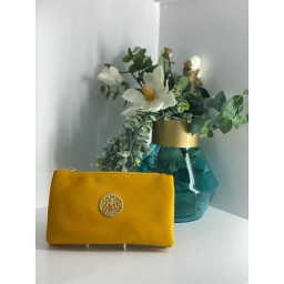 Lucy Cobb Bags Toni Clutch With Strap - Yellow