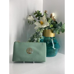 Lucy Cobb Bags Toni Clutch With Strap in Light Green