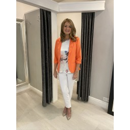 Fransa Zablazer 1 Blazer in Orange