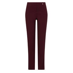 Robell Marie Trousers in Burgundy