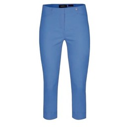 Robell Trousers Rose 07 Capri Trousers in Azure Blue