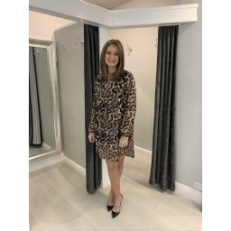 Lucy Cobb Lea Leopard Tunic  - Leopard Print
