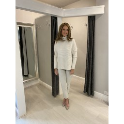 Lucy Cobb Janette Jumper in Stone