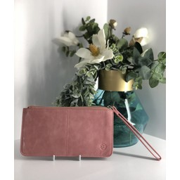 Lucy Cobb Purse With Wrist Strap - Pink (431)