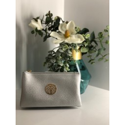 Lucy Cobb Bags Toni Clutch With Strap in Silver