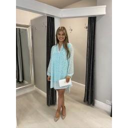 Lucy Cobb Pebble Shirt Dress - Soft Green