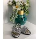 Diamante Sandals - Silver