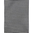 Rose 09 Dogtooth Check Trousers - Navy - Alternative 4