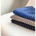 Marie 07 Pinstripe Capri Trousers - Navy - Alternative 2
