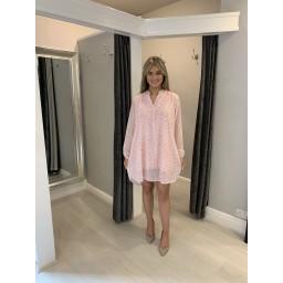 Lucy Cobb Pebble Shirt Dress - Pink (431)