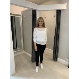 Lucy Cobb Stella Stretch Denim Jeans - Black (90)