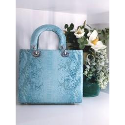 Malissa J Square Grab Bag - Aqua
