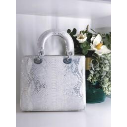 Malissa J Square Grab Bag - White