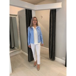 Robell Trousers Happy Jacket in Light Blue (611)
