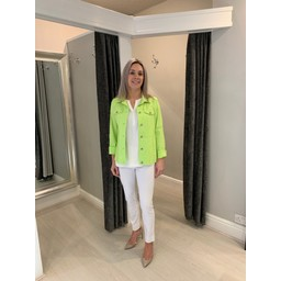 Robell Trousers Happy Jacket in Lime(810)