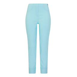 Robell Trousers Bella 09 7/8 Trousers in Turquoise