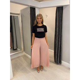 Lucy Cobb Diamante Awesome T-shirt  - Black (90)