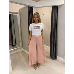 Lucy Cobb Diamante Awesome T-shirt  - White