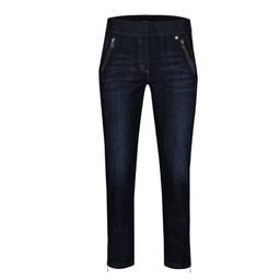 Robell Trousers Nena 09 Denim - Denim Blue