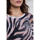 Zebra Print Jumper  - Multi - Alternative 4
