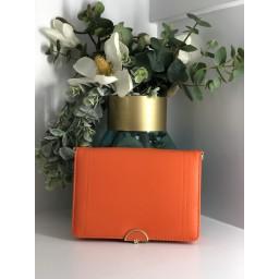 Malissa J Colour Pop Bag in Orange