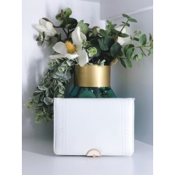 Malissa J Colour Pop Bag in White