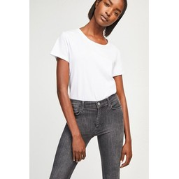 French Connection Rebound Organic Cotton 30 Inch Skinny Jean - Charcoal