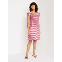 White Stuff Lena Dress - Hot Pink
