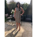 Molly Dress - Cheetah Print