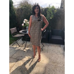 Alice Collins Molly Dress in Cheetah Print