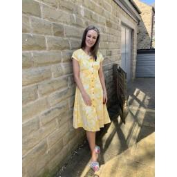 Alice Collins Susan Dress in Summer Leaf