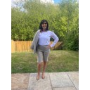 Bella 04 Shorts - Light Taupe - Alternative 1