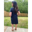 Charlotte Dress - Navy - Alternative 1