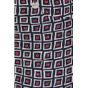 Rose 09 Square Check Trousers - Red - Alternative 2