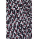 Rose 09 Square Check Trousers - Red - Alternative 4