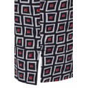 Rose 09 Square Check Trousers - Red - Alternative 1