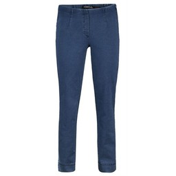 Robell Trousers Marie Petite / Shorter Length Denim Jeans in Light Denim Blue