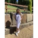 Taylor T Shirt Dress - White
