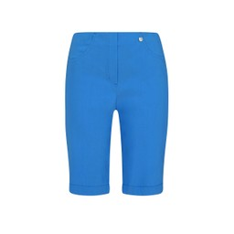 Robell Trousers Bella 05 Bermuda Shorts in Azure Blue