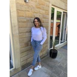 Lucy Cobb Magic Sparkle Trousers - Denim