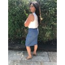 Maraike Denim Skirt - Light Denim Blue - Alternative 1