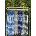 Tabbi Tie Dye Harem Trousers - Navy - Alternative 1