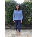 Nena 09 Trousers - Denim Blue